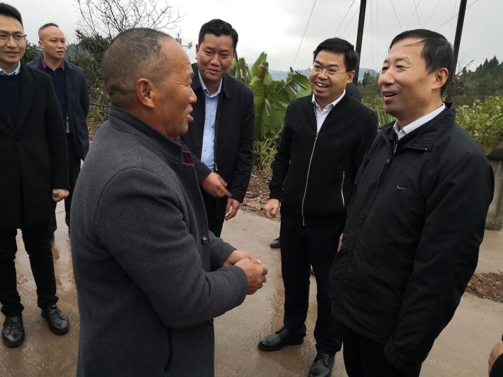 王志军赴四川省南充市嘉陵区、南部县开展定点扶贫调研检查